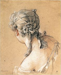 Francois Boucher - Study of a Young Woman - Trois crayons — Wikipédia Drawing Heads, Painting & Drawing, Art Drawings, Drawing Portraits, Trois Crayons, Alphonse Mucha, Illustration, Woman Drawing, Art Graphique