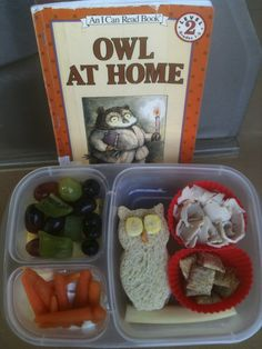 Keitha's Chaos: Owl at Home lunch