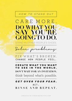 How to Stand Out Man