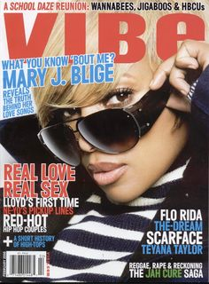 Vibe Magazine, Black Magazine, Mama Mary, Mary J, Newspaper Cover, Love And Hip, Celebrity Magazines, Flo Rida, Pinterest Photos