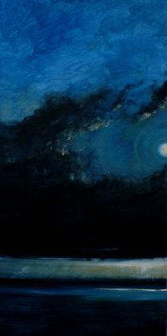 blue - sea - night - sky - Lucia Porter