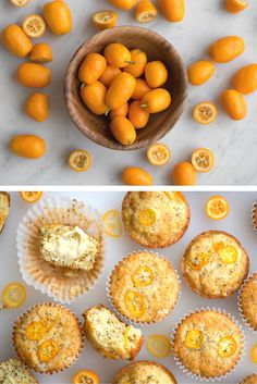 Winter Citrus: Kumquat & Poppy Seed Muffins | Meet our favorite way to use winter's tiniest citrus. | Recipe + Photos by Teresa Floyd of Now, Forager