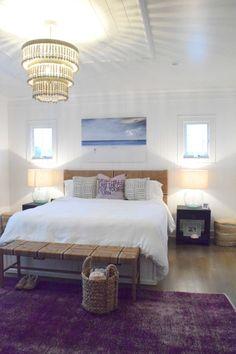 Coastal Living Eclectic Beach House Tour - Nesting With Grace Coastal Bedrooms, Coastal Living Rooms, Trendy Bedroom, Coastal Homes, Guest Bedrooms, Beach House Tour, Beach House Decor, Home Decor, Decor Room