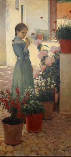 Santiago Rusiñol i Prats ~ Modernist/Symbolist painter | Tutt'Art@ | Pittura * Scultura * Poesia * Musica |