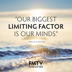 """Our Biggest Limiting Factor Is Our Minds."" - Amelia Boone www.fmtv.com"