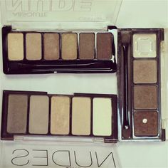 ☞ Naturals and Nudes ☜ by Lincy Personal Taste, March 2014, Nudes, Eyeshadow, Box, Beauty, Style, Swag, Eye Shadow