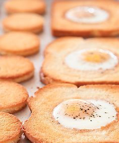 Eggs in a hole - your tasty hangover cure