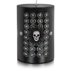 Lisa Carrier Designs Designer Decor & Lighting Royal Court - Skull Crest Wax Candle