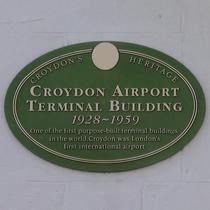 Croydon's Heritage Croydon airport terminal building, 1928 - 1959, one of the first purpose-built terminal buildings in the world. Croydon was London's first international airport.