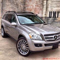 "mercedes benz suv rims   2007 Mercedes-benz Gl450 Suv Low Miles Awd 22"" Mandrus Wheels 4matic ..."