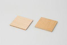 天然木 飾り棚 棚板 - 小 2枚組品番
