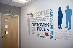 Corporate Culture Wall Graphics