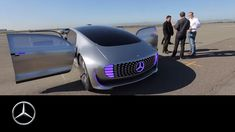 A driving experience of a different kind – the F 015 - Mercedes-Benz ori...