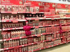 Oh my goodness.. This is actually my idea of Soap & Glory heaven :O I need to go there! NOW!