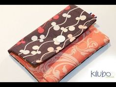 Monedero/Carterita muy fácil de hacer - YouTube Diy Purse, Purse Wallet, Pouch, Sewing Tutorials, Sewing Projects, Clutch Pattern, How To Make Purses, Crochet Purses, Handmade Bags