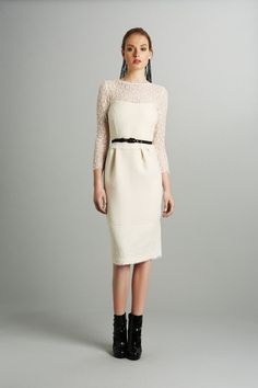 Luisa Beccaria Pre-Fall 2013 Collection Slideshow on Style.com Elegant .. with the right accessories this can work day or night.