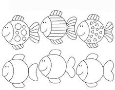 Risultati immagini per pracovní listy zima Applique Patterns, Applique Designs, Preschool Worksheets, Preschool Crafts, Colouring Pages, Coloring Sheets, Rainbow Fish Template, Pre Writing, Sea Theme