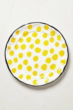 Ceramic Plates, Ceramic Pottery, Ceramic Art, Cerámica Ideas, Deco Design, Booth Design, Mellow Yellow, Bright Yellow, Yellow Black