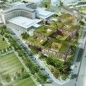 Helsingborg Hospital Extension Winning Proposal / Schmidt Hammer Lassen Architects Courtesy of Schmidt Hammer Lassen Architects