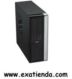 """Ya disponible Caja sobremesa micro atx lp 170104b   (por sólo 53.95 € IVA incluído):   -Formato:Sobremesaconvertible microATX -Bahias externas: 1x 5.25"""" 1x 3.5"""" -Bahias internas: 2x 3.5"""" -Conectores frontal:Audio + Mic + 2 x USB2.0 frontal -Ventilador adicional: - Trasera (instalados):Ventilador de 80mm - Trasera (opcionales):2 ventiladores adicionales de 60mm (no incluidos) -Fuente:ATX PS/2 350W. -Medidas (alto x ancho x fondo):355x137x345mm (colocada en formato torre) -"""