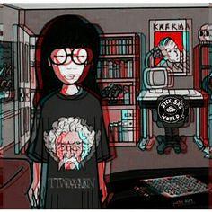 my queen! Daria Morgendorffer, Daria Mtv, Animation, Fan Art, My Spirit Animal, Cultura Pop, Les Oeuvres, Geek Stuff, Artsy
