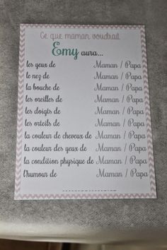 Happiness Moment: .. Baby Shower pour Emy ! ..