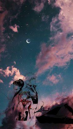 'Not family but feel family. Gintama Funny, Gintama Wallpaper, Kokoro, Animes Wallpapers, Manga Anime, Iphone Wallpaper, Feelings, Artist, Movie Posters