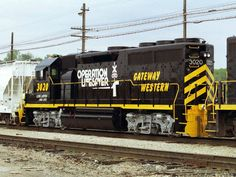 GWWR 3020   Description:  Classy looking Operation Lifesaver unit!   Photo Date:  12/30/1996   Location:  Kansas City, MO   Author:  Jim Matuska  Categories:    Locomotives:  GWWR 3020(GP40)