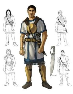 Iberian warriors , IV century