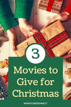 3 Movies to Give for Christmas - FabioEmme.it %