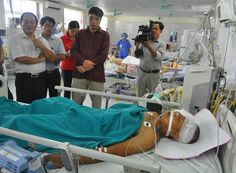 Bệnh viện trả phụ xe khách Sao Việt 18 tuổi về quê - 9/4/2014 - Zing