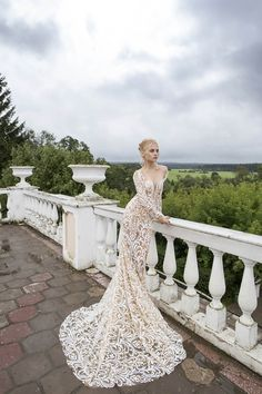 Courtesy of Nurit Hen Wedding Dresses Ivory & White Collection
