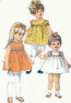 Fotos infantiles moda antigua