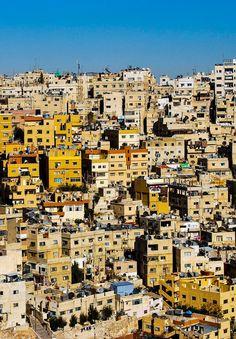 Amman, Jordan - City views from the Amman Citadel