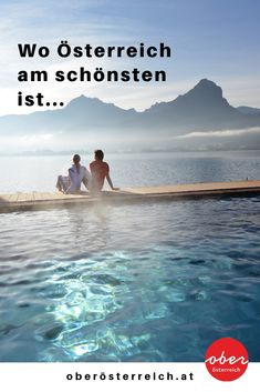 Insider tips: Have you ever been on vacation in Upper Austria? Because Upper Austria offers wonderful places and places that you should not miss! Reisen In Europa, Have You Ever, Bora Bora, Where To Go, Wonderful Places, Austria, Diving, Vacation, Beach