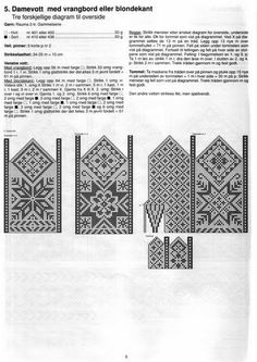 """Photo from album """"Selbustrikk on Yandex. Knitted Mittens Pattern, Knit Mittens, Knitted Gloves, Knitting Socks, Knitting Charts, Knitting Stitches, Knitting Patterns, Easy Yarn Crafts, Norwegian Knitting"""