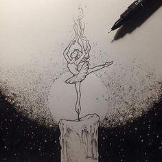 She burns like fire..