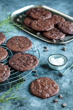 6 Non-Stop Delicious Cookie Bar Recipes Gluten Free Chocolate Cookies, Choco Chip Cookies, Pudding Cookies, Chocolate Chip Muffins, Chocolate Chocolate, Healthy Chocolate, Healthy Cookies, Yummy Cookies, Oatmeal Cookie Bars