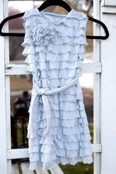 This-n-that; a little crafting: Ruffle Dress