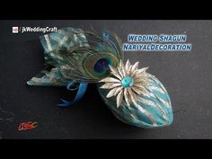 DIY Coconut Decoration For Indian Wedding Diy Wedding Ring, Desi Wedding Decor, Wedding Crafts, Wedding Stuff, Bridal Gift Wrapping Ideas, Wedding Gift Baskets, Vase Crafts, Craft Stick Crafts, Dorm Room Crafts