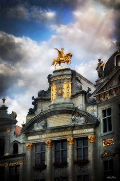 Maison de Brasseurs, National Museum of the Brewery.  Brussels, BELGIUM.