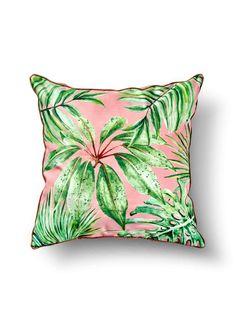 Perna Decorative Leaf Roz 50x50 cm Decorative Leaves, Throw Pillows, Legs, Fairy Houses, Toss Pillows, Decorative Pillows, Decor Pillows, Scatter Cushions