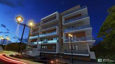 Imobil locuinte colective D+P+4E Multi Story Building, Industrial, Design, Industrial Music