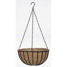 Walmart: Gardman R408 14 in Black Traditional Hanging Basket & Liner