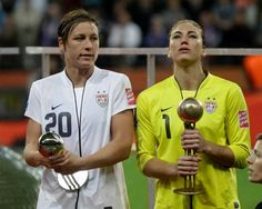 Wambach and Solo.  Awesome.