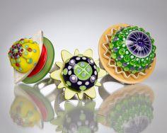 Handmade Glass Beads - Dora Schubert • Beadchatter •