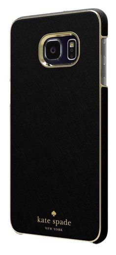 Kate Spade New York Wrap Case for Samsung Galaxy S7 - Saffiano Black - (A Grade)