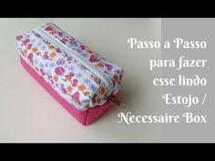 CRIANDO 16 04 14 NECESSAIRE BOX avi - YouTube