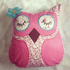My owl cushion!