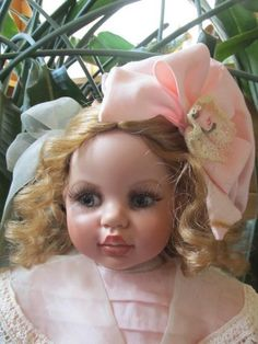 """Fayzah Spanos """"All My Favorite Things"""" cloth and vinyl doll"""